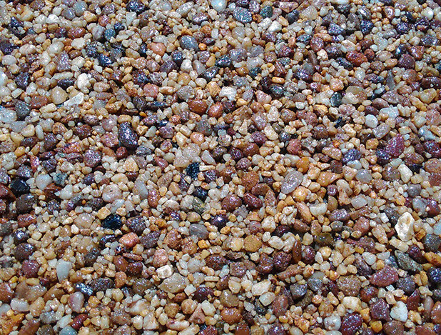 Toffee - Resin Bound aggregate